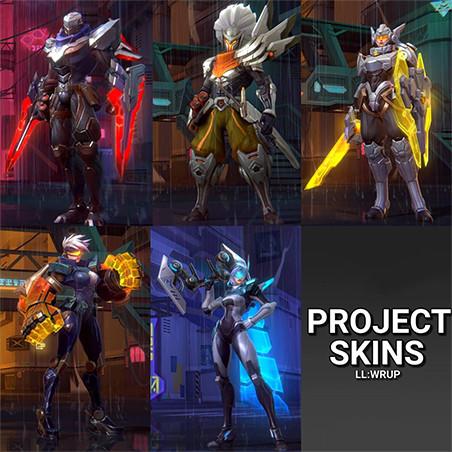 skins projeto wild rift yasuo zed vi ashe leon lol mobile projeto