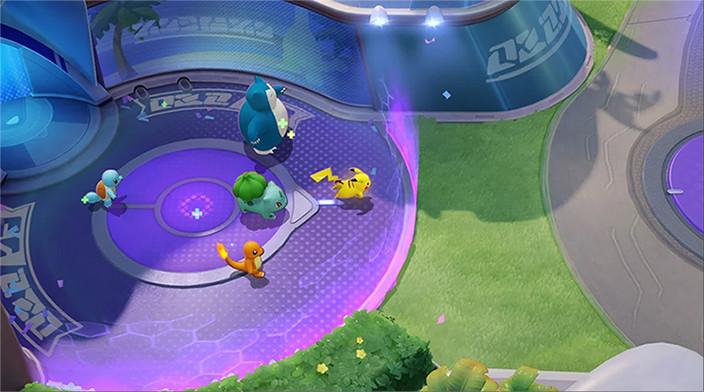 pokemon unite beta pokemon moba mobas pikachu squirtle snorlax bulbassauro charmander charizard blastoise pokelol