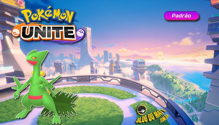 Sceptile pokemon jogáveis pokémon unite especulações