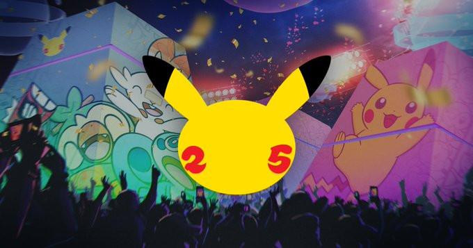 pokemon pokémon unite aniversário 25 anos evento katy perry