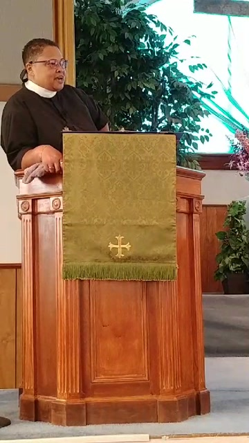"Luke 10:1-11; 16-20 ""Go"" Pastor Angela Jones-Ramirez"