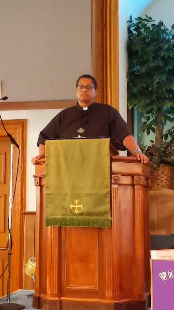 """The Christ of Division"" Luke 12:49-56 Pastor Angie Jones-Ramirez"
