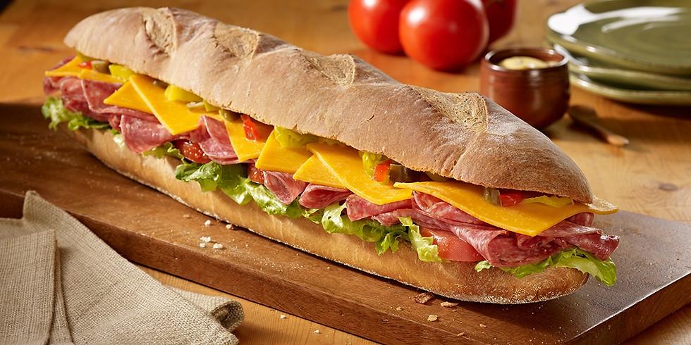 Submarine Sandwich Fundraiser