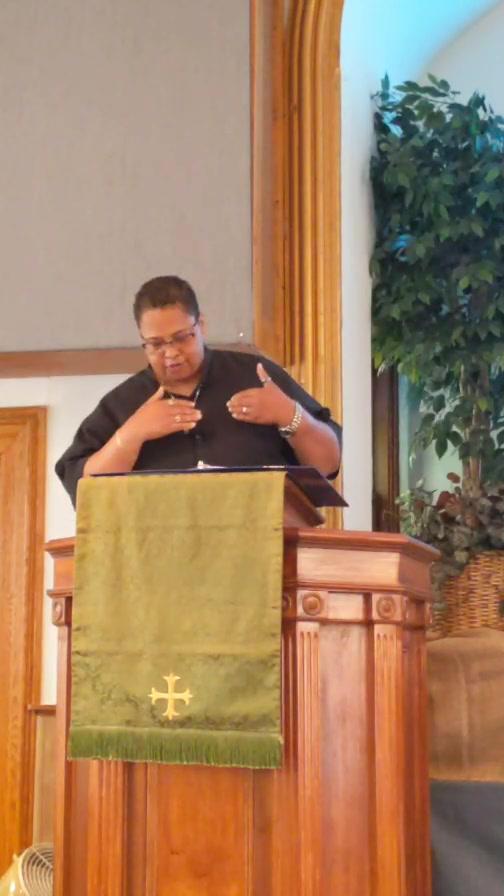 """Choose the Better Part""  Pastor Angie Jones-Ramirez"