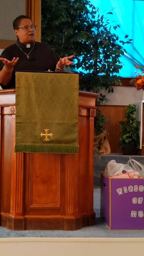 """Bent But Not Broken"" Jeremiah 1:4-10; Isaiah 58: 9b-14 Pastor Angie Jones-Ramirez"