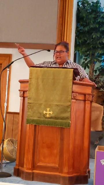 """Where is your treasure?""  Rev. Intern Coralis Weston Luke 12:32-35"