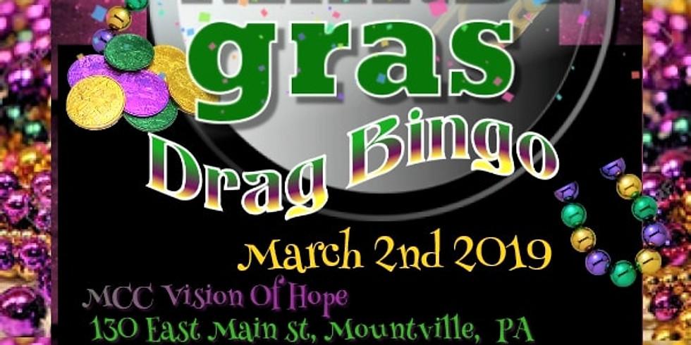 Mardi Gras Drag BINGO