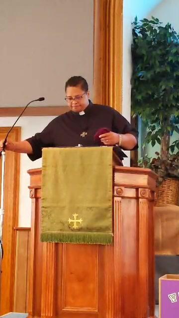 """New Wine or Old Vinegar : Your Choice"" Luke 12: 13-21 Pastor Angie Jones-Ramirez"