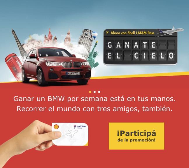 Shell Promo: Ganate el Cielo