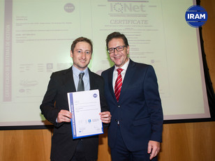 Leveal S.A. Certificó Norma IRAM-ISO 9001:2015
