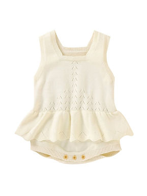 Peplum Knit Bodysuit