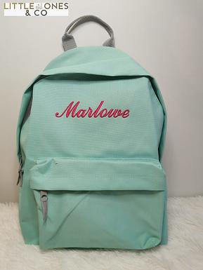 'Louis' Personalised Backpack