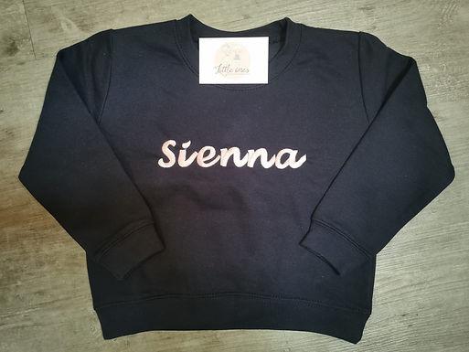 'Saint' Personalised Sweatshirt