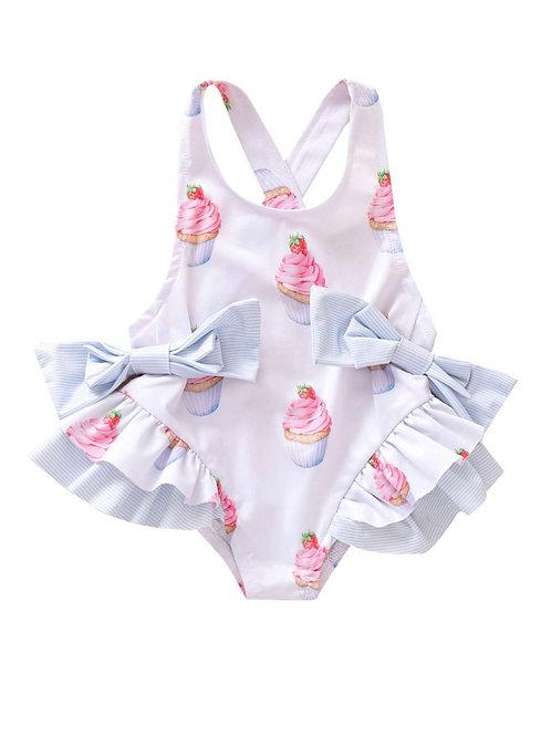 Cupcake & Bows Swimsuit