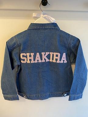 'Marlowe' Academy Personalised Denim Jacket