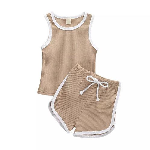 'Rocco' Shorts & Vest Set