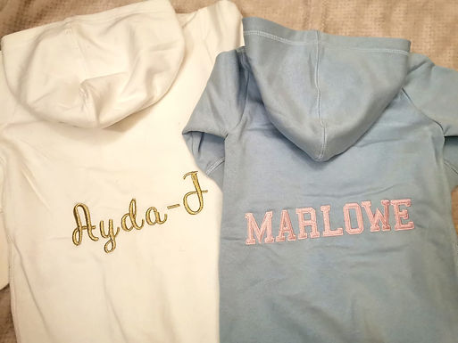 Personalised Baby/Toddler All in one
