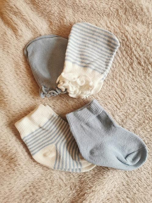 Baby Mittens & Socks Set