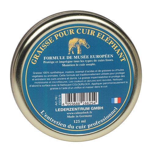 Graisse pour cuir ÉLÉPHANT COLOURLOCK, 125 ml