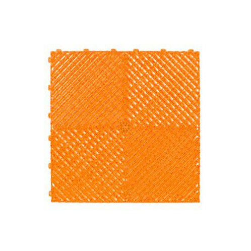 Dalle de sol PP Orange izifloor ral2004