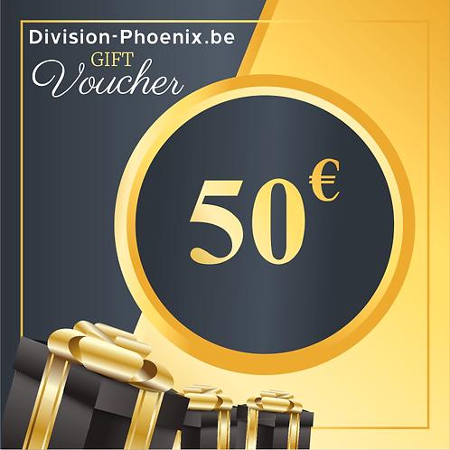 50 € Chèques Cadeaux