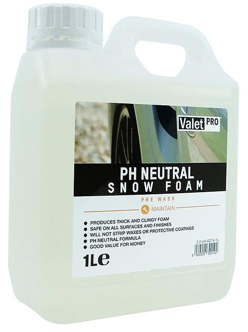 EC14-1L pH Neutral Snow Foam 1L ValetPRO