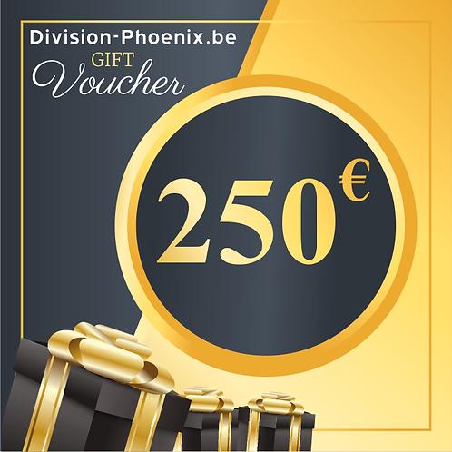 250 € Chèques Cadeaux