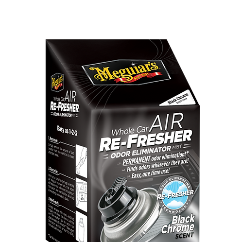 G181302 Air Re-Fresher, Black Chrome Scent