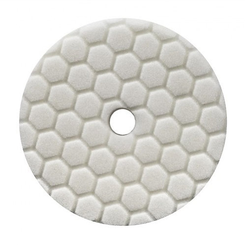 HEX-LOGIC QUANTUM LIGHT-MEDIUM POLISHING PAD, WHITE (5.5 INCH)