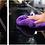 Thumbnail: HAPPY ENDING EDGELESS MICROFIBER TOWEL, MAUVE, 40CM X 40CM