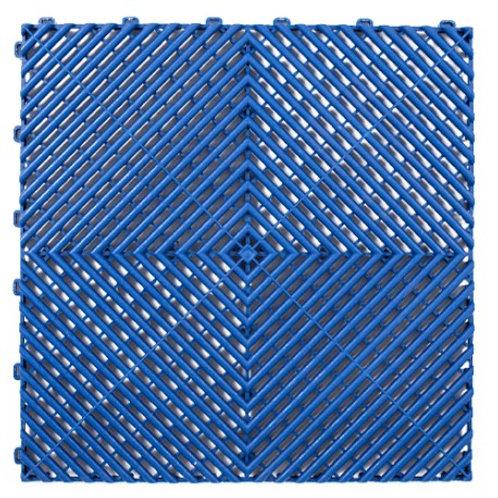 Dalle de sol PP Bleu izifloor ral 5022