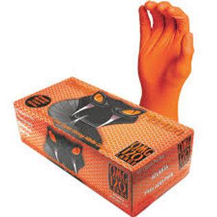 Orange Mamba Gant Nitrile Orange