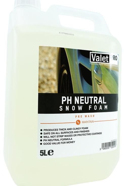 EC14-5L pH Neutral Snow Foam 5L ValetPRO