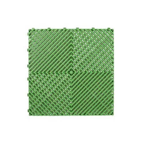 Dalle de sol PP Verte izifloor ral6002