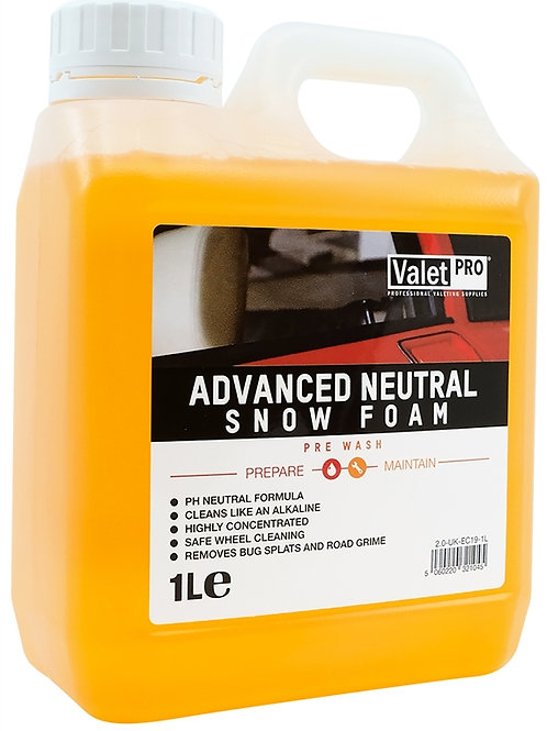 ADVANCED NEUTRAL SNOW FOAM 1L ValetPRO EC19-1L