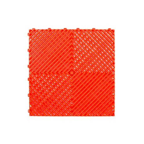 Dalle de sol PP Rouge signal izifloor ral3020