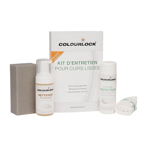 Kit d'entretien puissant COLOURLOCK pour cuirs lisses avec Lotion protectrice