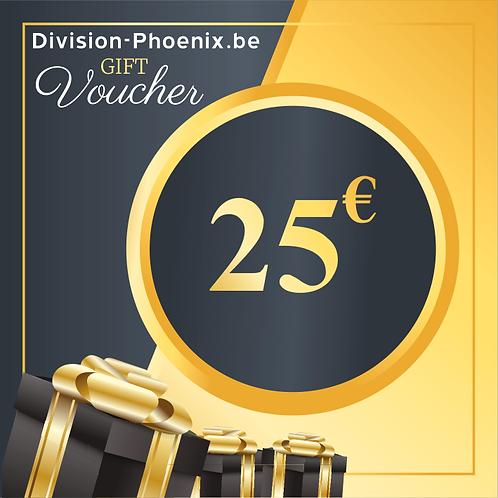 25 € Chèques Cadeaux