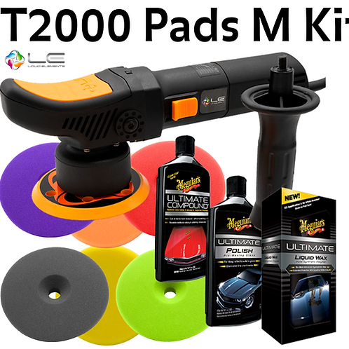 T2000 6 Pads Compound, Polish et Cire Ultimate Meguiar