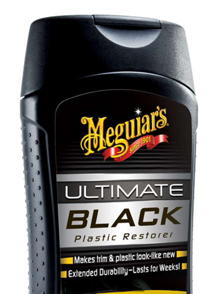 #G15812 Ultimate Black plastic restaure