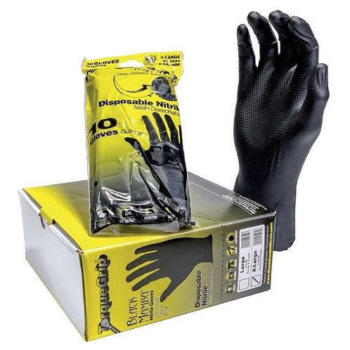 Black Mamba Torque Grip Gant Nitrile Noir