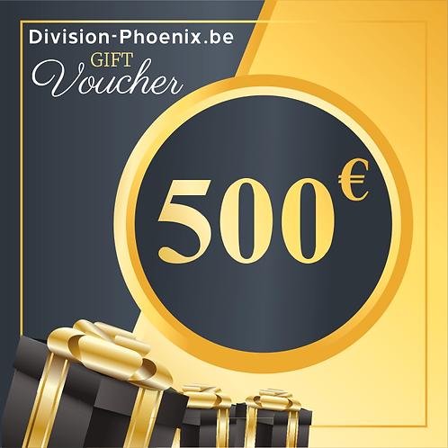 500 € Chèques Cadeaux