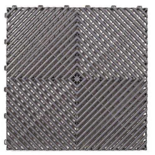 Dalle de sol PP Anthracite izifloor ral 7012