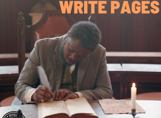 Black History month at Finesse Foreva 2020: Wish Master drops Write Pages