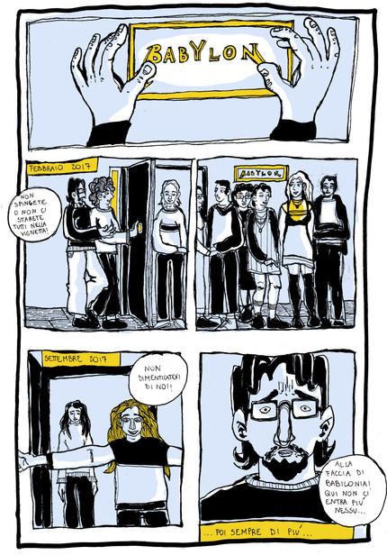 La nostra storia a Fumetti