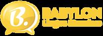Logo Babylon orizzontale giallo.png
