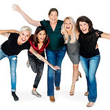 happiness-group-women-arms-stretched-hud