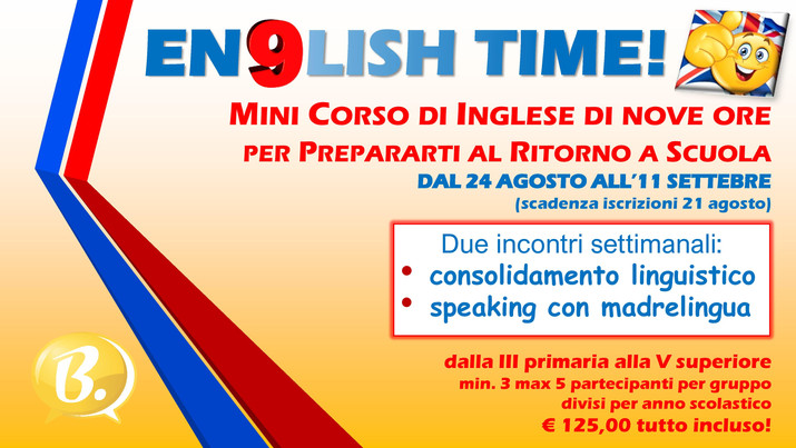 En9lish Time!