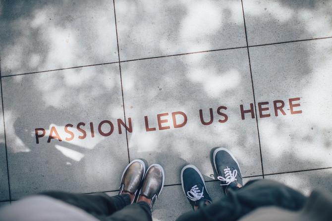 ¡Encuentra tu pasión y haz que suceda!