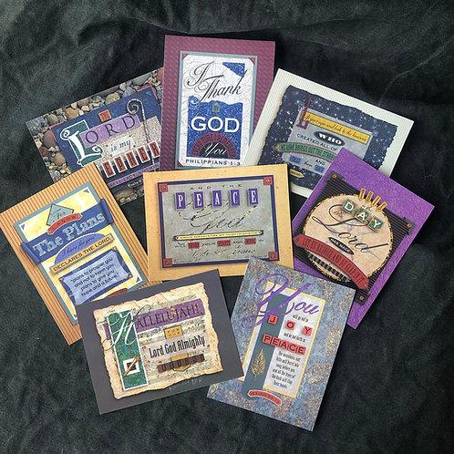 TEXTures Greeting Card Set
